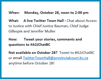 """The """"Twitter Town Hall"""" Comes Back to BC on Monday October 28"""
